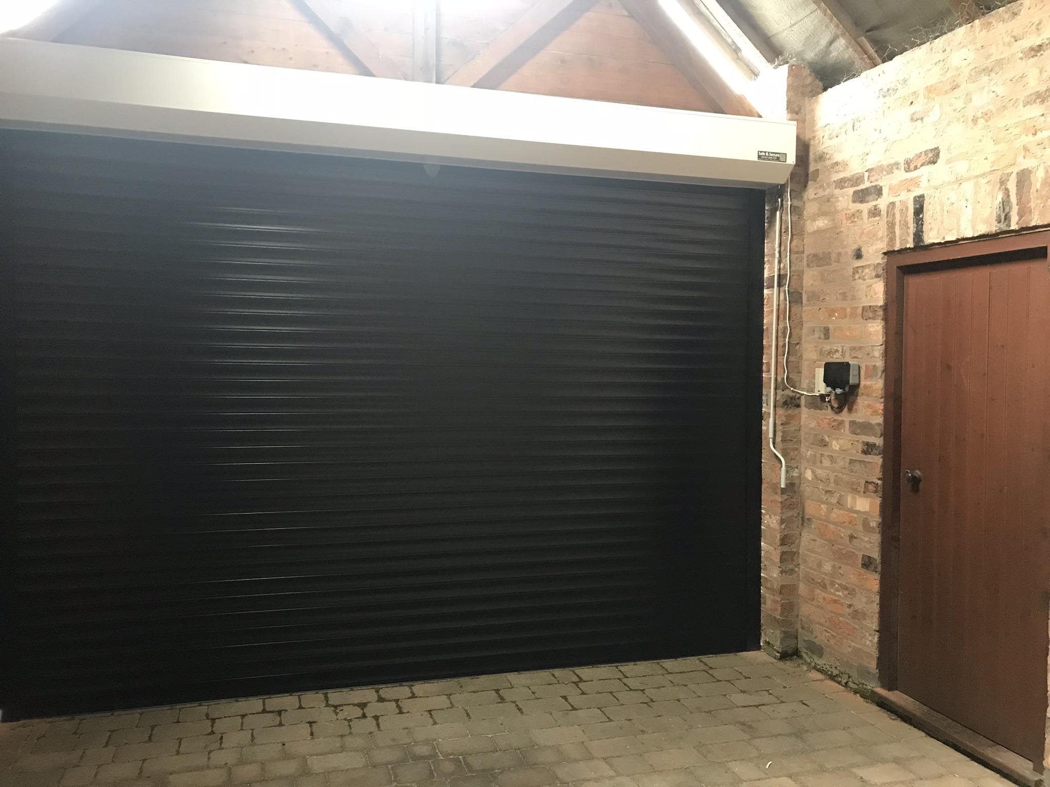 Roller Garage Doors Installation Rhyl Denbigh Safe