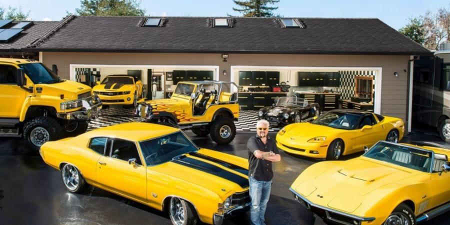 guy fieri car collection